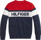 TOMMY HILFIGER COLORBLOCK SWEATER_