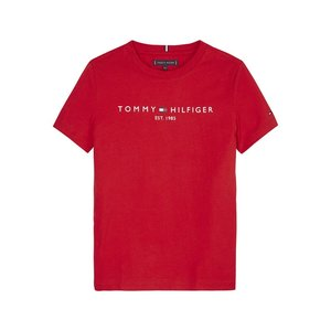 TOMMY HILFGER ESSENTIAL TEE S/S-RED