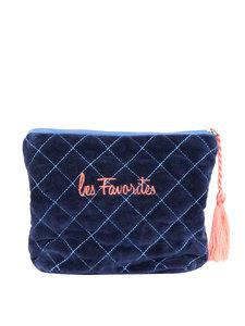 LES FAVORITES LOULOU MAKE-UP BAG BLUE